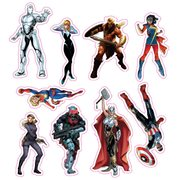Marvel Now Character Car Graphics Set