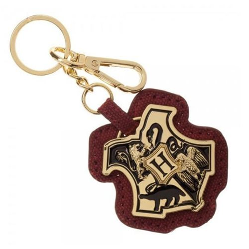 Harry Potter Hogwarts Crest Layered PU Key Chain