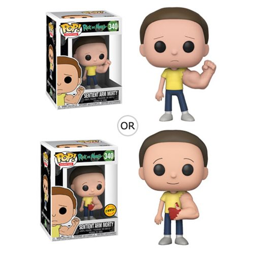 Rick and Morty Sentient Arm Morty Pop! Vinyl Figure #340, Not Mint