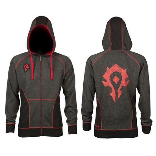 World of Warcraft Horde Classic Premium Zip-Up Hoodie