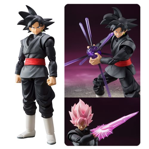 Dragon Ball Super Goku Black SH Figuarts Action Figure P-Bandai Tamashii Exclusive