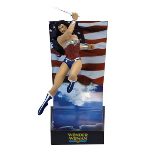 DC Comics Wonder Woman New 52 Premium Motion Statue