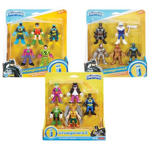 DC Super Friends Imaginext Mini-Figure 5-Pack Case