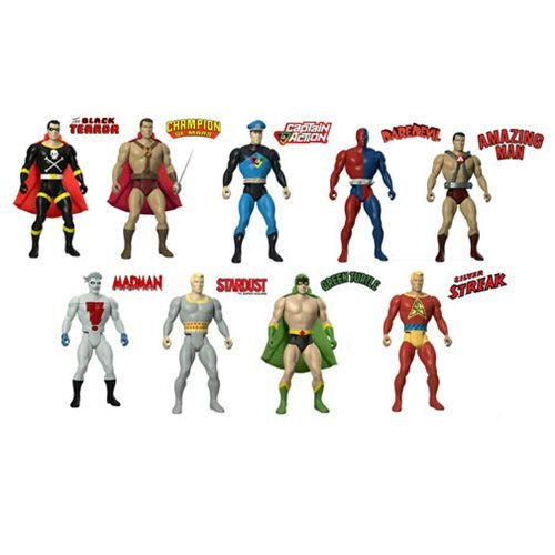 Amazing Heroes Action Figures Series 1 Case