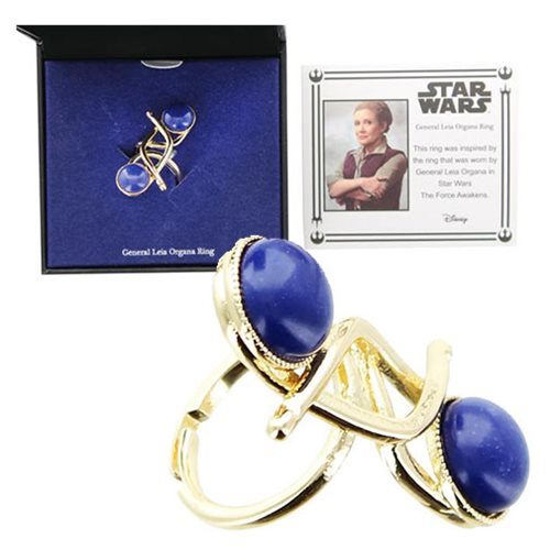Star Wars: The Force Awakens General Leia Organa Ring Prop Replica