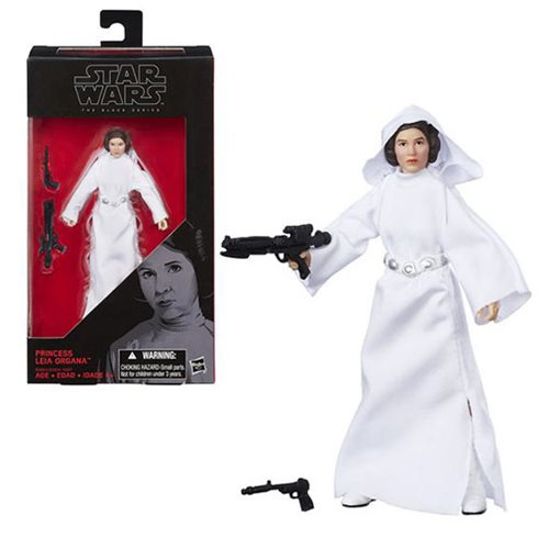 Star Wars The Black Series Princess Leia Organa 6-Inch Action Figure