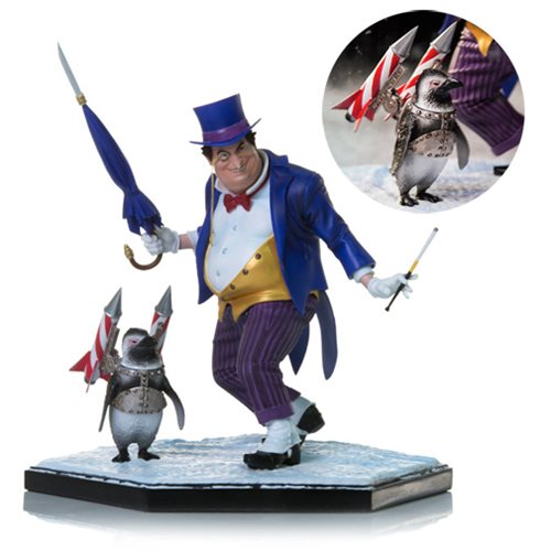 DC Comics The Penguin 1:10 Scale Deluxe Art Statue