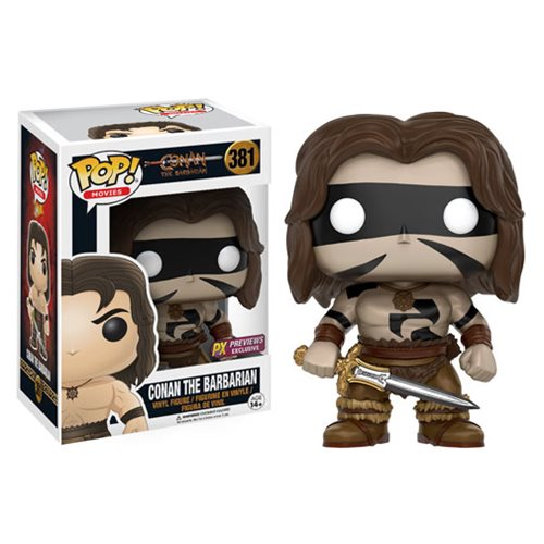 Conan The Barbarian War Paint Conan Pop! Vinyl Figure - Previews Exclusive
