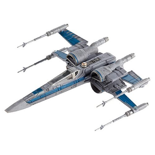 Star Wars TFA Resistance X-Wing Fighter HW Elite Vehicle
