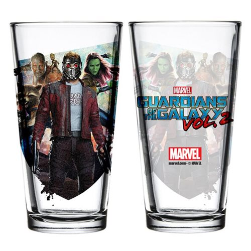 Guardians of the Galaxy Vol. 2 Toon Tumbler Pint Glass