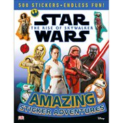 Star Wars: The Rise of Skywalker Amazing Sticker Adventures Paperback Book