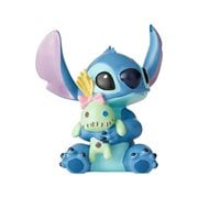 Disney Showcase Lilo & Stitch Stitch with Scrump Doll Mini Statue