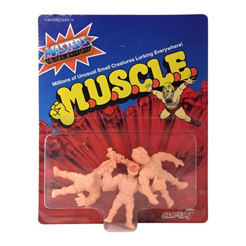 Masters of the Universe M.U.S.C.L.E. Mini Figure Wave 2 A-Pack