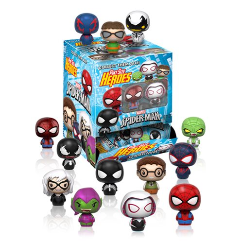 Spider-Man Pint Size Heroes Mini-Figure Display Case