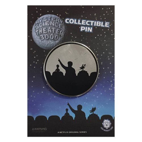 Mystery Science Theater 3000 Silhouette Lapel Pin