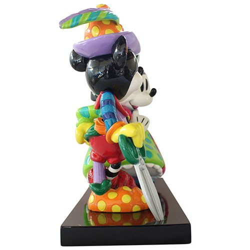 Disney Mickey Mouse and Minnie Mouse Medieval Statue by Romero Britto