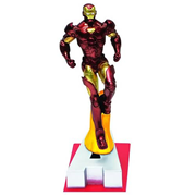 Marvel Edition Iron Man Letter A Statue