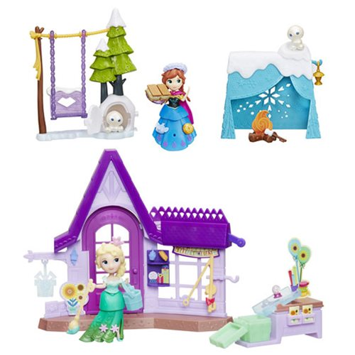 Frozen Small Doll Playsets Wave 3 Case