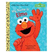 Sesame Street My Name is Elmo Little Golden Board Book