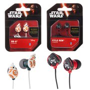 Star Wars: Episode VII Ear Bud Headphones Set