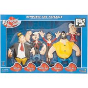 Popeye Bendable Figures Boxed Set