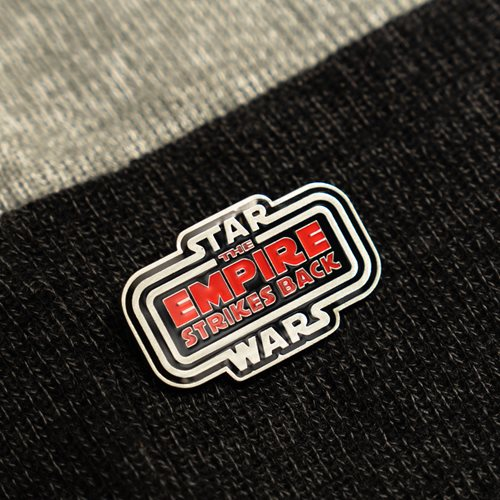 Star Wars: The Empire Strikes Back 40th Anniversary Enamel Pin - Entertainment Earth Exclusive