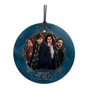Fantastic Beasts and Where to Find Them Newt and Friends StarFire Prints Hanging Glass Ornament