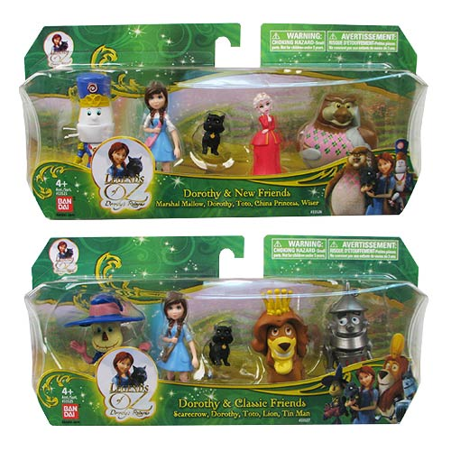 Legends of Oz Dorothy and Classic Friends Collectible Figure Set