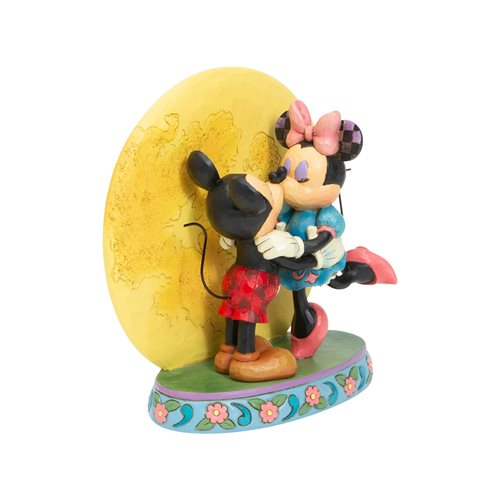 Disney Traditions Mickey and Minnie by Moon Magic and Moonlight by Jim Shore Statue