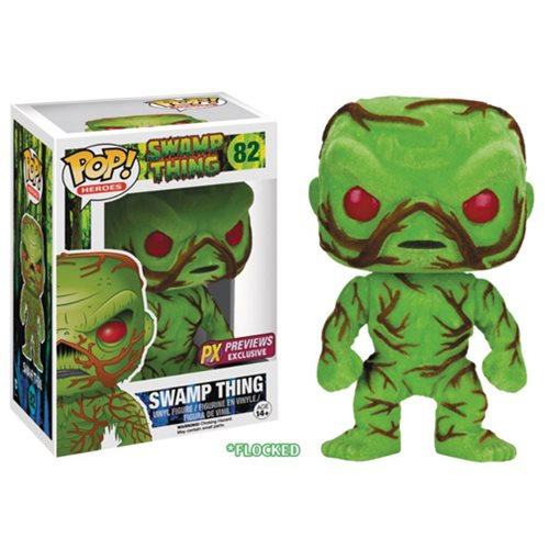Swamp Thing Scented Flocked Pop! Vinyl Figure - SDCC 2016 Exclusive