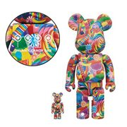 Dylan's Candy Bar 100% and 400% Bearbrick Figure 2-Pack