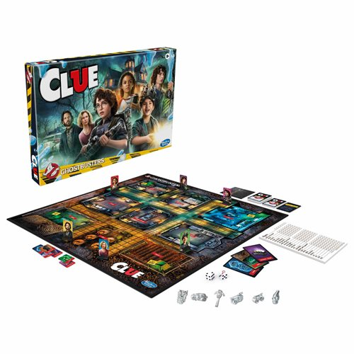 Ghostbusters Edition Clue Game