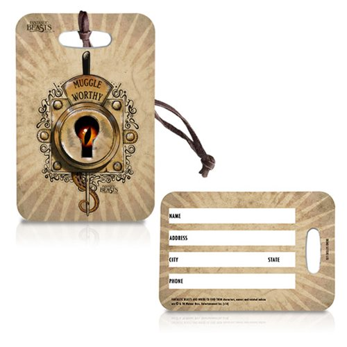 Fantastic Beasts and Where to Find Them Muggle Worthy Luggage Tag