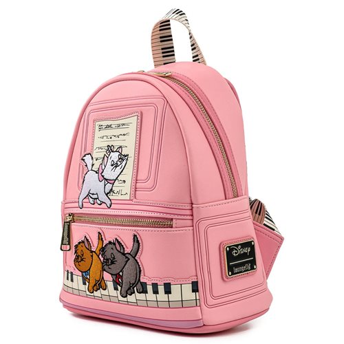 Aristocats Piano Kittens Mini-Backpack