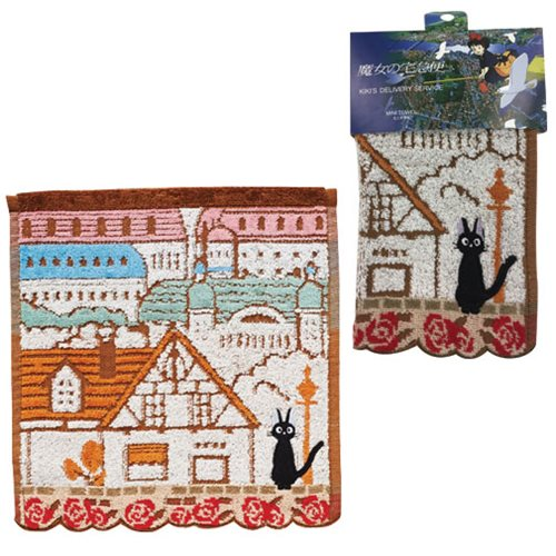 Kiki's Delivery Service Jiji City of Koriko Mini Towel