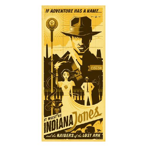 Indiana Jones If Adventure Has A Name by Eric Tan Gallery Wrapped Canvas Giclee Art Print