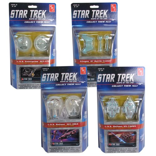 Star Trek Ships of the Line Snap-Fit Model Half Case