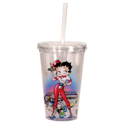 Betty Boop Roller Travel Cup