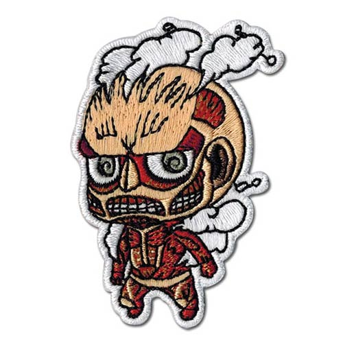 Attack on Titan Super Deformed Titan Patch