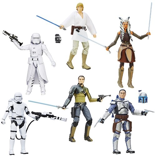 Star Wars: The Force Awakens The Black Series 6-Inch Action Figures Wave 6 Revision 1 Case