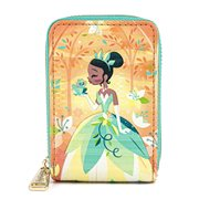 Princess and the Frog Tiana and Naveen Kiss Zip-Around Wallet