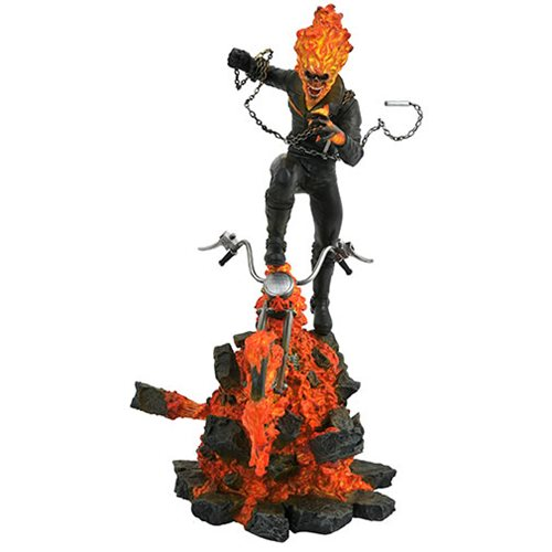 Marvel Comic Milestones Ghost Rider Resin Statue