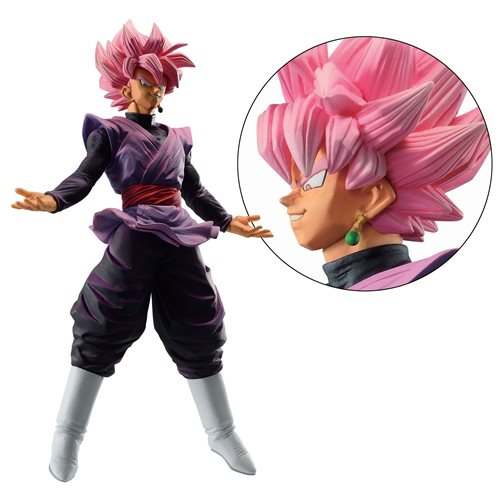 Dragon Ball Dokkan Battle Goku Black Super Saiyan Rose Ichiban Statue