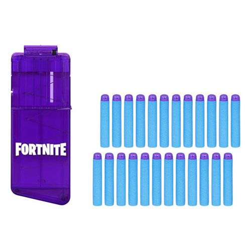 Fortnite Nerf  12-Dart Clip and 24 Official Nerf Elite Darts