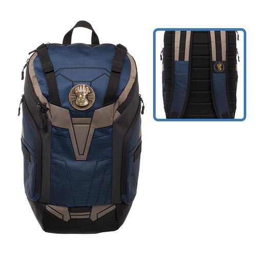 Avengers: Infintiy War Thanos Infinity Gauntlet Rear-Zip Backpack