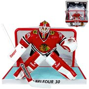NHL Chicago Blackhawks Ed Belfour 6-Inch Action Figure with Net