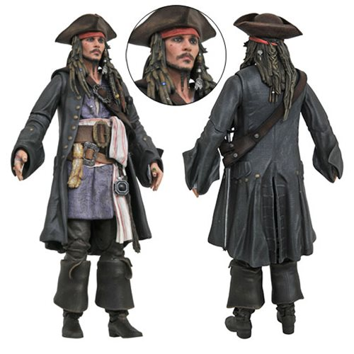 Pirates of the Caribbean: Dead Men Tell No Tales Jack Sparrow Action Figure
