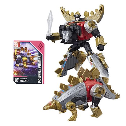 Transformers Generations Power of the Primes Deluxe Class Dinobot Snarl Hasbro