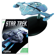 Star Trek Starships Jem'Hadar Fighter with Collector Magazine