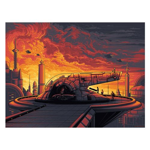 Star Wars Cloud City by Dan Mumford Silk Screen Art Print